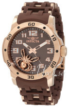 Invicta Sea Spider Brun/Rose-gulltonet stål