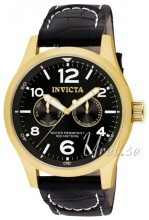 Invicta I-Force Sort/Lær Ø48 mm
