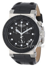 Invicta Ocean Reef Sort/Lær