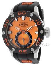 Invicta Russian Diver Orange/Gummi Ø51.5 mm
