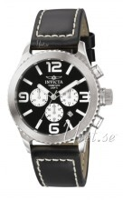 Invicta II Sort/Lær