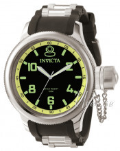 Invicta Russian Diver Sort/Stål Ø51.5 mm