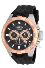 Invicta I-Force Sort/Gummi Ø50 mm