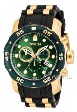 Invicta Russian Diver Sort/Gulltonet stål Ø48 mm