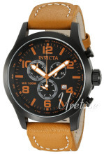 Invicta I-Force Sort/Lær