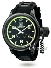 Invicta Russian Diver Sort/Stål Ø51 mm
