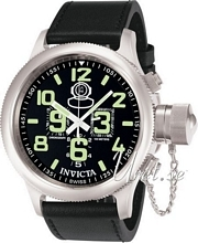 Invicta Russian Diver Sort/Lær Ø51.5 mm