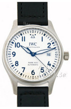 IWC Pilots Classic Hvit/Lær