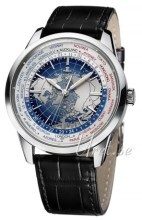 Jaeger LeCoultre Geophysic® Universal Time Stainless Steel Blå/L