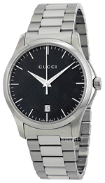 Gucci G-Timeless Sort/Stål Ø38 mm YA126457