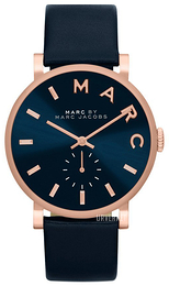 Marc by Marc Jacobs Blå/Lær Ø36 mm MBM1329