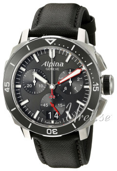 Alpina Seastrong Sort/Lær Ø44 mm
