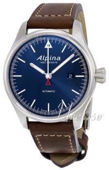 Alpina Startimer Blå/Lær Ø45.5 mm