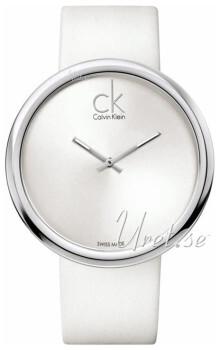 Calvin Klein Appeal Sølvfarget/Lær Ø46 mm