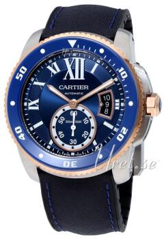 Cartier Calibre De Cartier Blå/Gummi