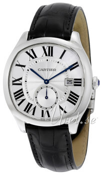 Cartier Drive De Cartier Sølvfarget/Lær