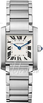 Cartier Tank Francaise Sølvfarget/Stål