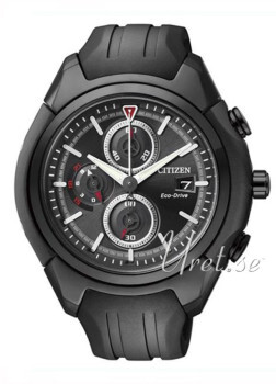 Citizen Sport Chrono Sort/Gummi