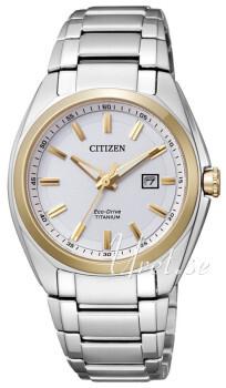 Citizen Titanium Hvit/Titan