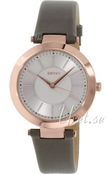 DKNY Dress Sølvfarget/Rose-gulltonet stål Ø36 mm