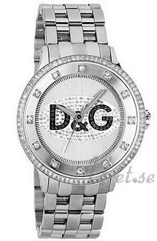 Dolce & Gabbana D&G Prime Time Sølvfarget/Stål Ø43 mm