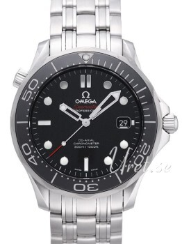 Omega Seamaster Diver 300m Co-Axial 41mm Sort/Stål