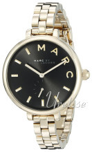 Marc by Marc Jacobs Dress Sort/Gulltonet stål Ø36 mm