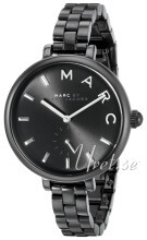 Marc by Marc Jacobs Dress Sort/Stål Ø36 mm