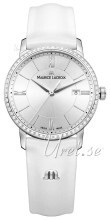Maurice Lacroix Eliros Date Ladies Sølvfarget/Lær Ø30 mm