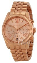 Michael Kors Lexington Chronograph Rosegullfarget/Rose-gulltonet