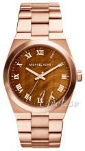 Michael Kors Brun/Rose-gulltonet stål