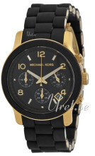 Michael Kors Runway Sort/Plast Ø38 mm