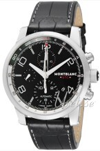 Montblanc Timewalker Sort/Lær Ø43 mm