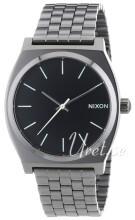 Nixon The Time Teller Sort/Stål