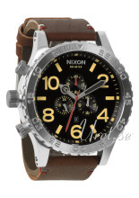 Nixon The 51-30 Leather Sort/Lær