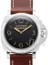 Panerai Historic Luminor 1950 3 Days Sort/Lær Ø47 mm