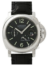 Panerai Contemporary Luminor Power Reserve Sort/Lær Ø44 mm