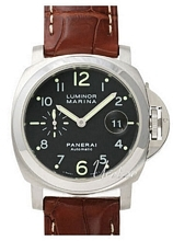 Panerai Contemporary Luminor Marina Automatic Sort/Lær Ø44 mm