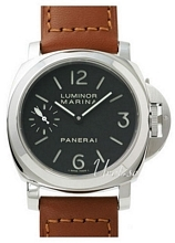 Panerai Historic Luminor Marina Sort/Lær Ø44 mm