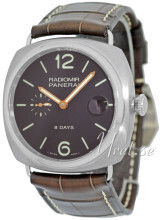 Panerai Historic Radiomir 8 Days Brun/Lær Ø45 mm