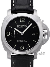 Panerai Contemporary Luminor 1950 3 Days Automatic Sort/Lær Ø44