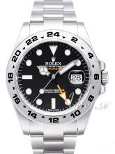 Rolex Explorer II Sort/Stål
