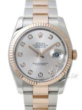 Rolex Datejust 36 Sølvfarget/Stål