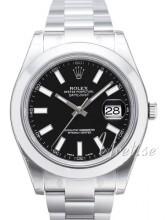 Rolex Datejust II Sort/Stål