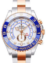 Rolex Yacht-Master II Hvit/18 karat rosé gull Ø44 mm