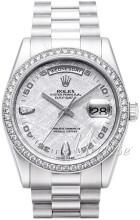 Rolex Day-Date 36 Sølvfarget/Platina