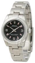 Rolex Perpetual Midsize 31 Sort/Stål