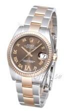 Rolex Datejust 31 Brun/Stål