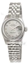 Rolex Lady-Datejust 26 Sølvfarget/Stål