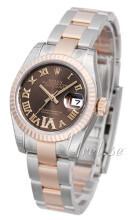 Rolex Lady-Datejust 26 Brun/Stål